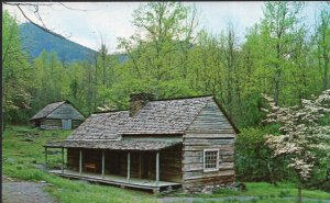 TN Junglebrook Restored Mountain Farm Great Smoky Mountains National Park - C