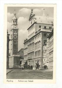 Augsburg , Germany, 40-50s, Rathaus und Perlach