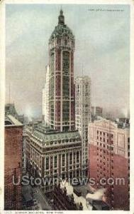 Singer Bldg New York City NY Unused