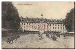 Old Postcard Horse Riding Equestrian Saumur Carrousel 1907