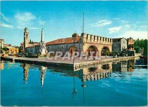 Modern Postcard Lago di Garda Lazise Panorama