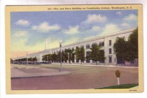 War and Navy Building, Constitution Avenue. Washington DC,