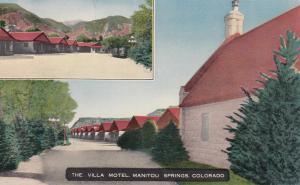 MANITOU , Colorado , 1955 ; The Villa Motel