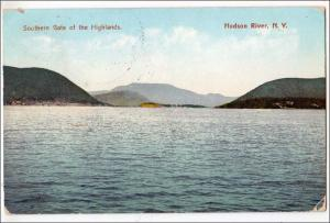 Southern Gate of Highlands, Hudson River NY