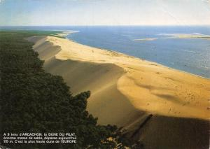 France Cote Aquitaine Bassin D'Arcachon Gironde La dune du Pilat