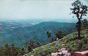 Arkansas Dardanelle Overlooking The Arkansas River Valley From Mount Nebo Mou...