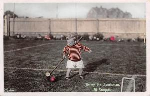 Jimmy the spofrtsman, Croquet Postcard Jimmy The spofrtsman Unused