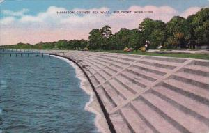 Mississippi Gulfport Harrison County Sea Wall