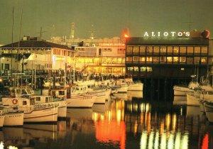 Aliotos Sicilian Seafood Restaurant San Fransisco Fishermans Wharf Postcard