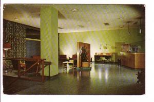 Interior, Lobby, Hotel Carlton, Newark New Jersey, Lewis Studios