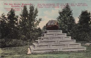 MENASHA, Wisconsin; The Jean Nicolet Monument, 00-10s
