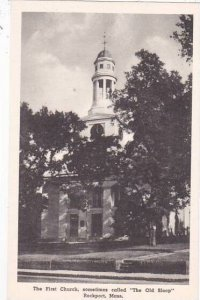 Massachusetts Rockport The First Church Somethimes Called The Old Sloop Alber...
