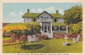 GANANOQUE, Ontario, Canada, 1900-1910's; The Guest House, The Golden Apple Ltd.