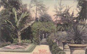 Italy Lagi di Como Cadenabbia Giardino della Villa Carlotta