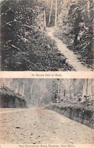 West Africa Africa, Afrika African Path or Road West Africa African Path or Road