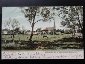 Argentina: San Isidro, Recuerdo de le Republica Argentina - Old UB Postcard