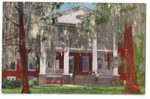 Gloucester Mansion Natchez MS Mississippi Postcard