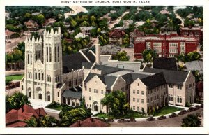 Texas Fort Worth First Methodist Church 1934