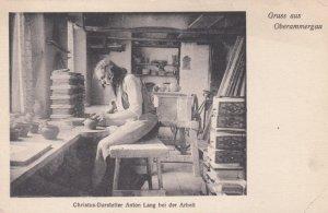 OBERAMMERGAU , Germany , 1910-30s ; Anton Lang