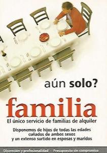 POSTAL PUBLICITARIA 55442: FAMILIA