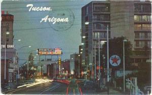 S. on Stone Downtown Tucson, Arizona, AZ, 1965 Chrome,