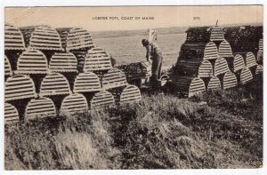 Lobster Pots, Coast Of Maine