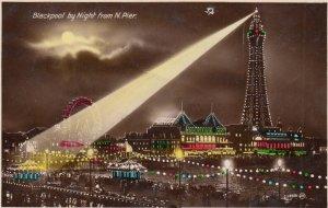 RP: CINDERELLA , BLACKPOOL Illuminations , England , 1910-30s ; N. Pier