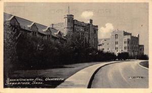 Canada Saskatchewan Hall University Saskatoon Postcard