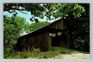 Oldtown KY- Kentucky, Kentucky Covered Bridge, Little Sandy River ChromePostcard