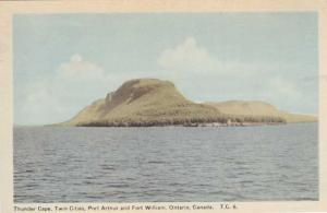 Thunder Cape - Port Arthur and Fort William, Ontario, Canada - WB