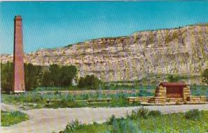 Site Of De Mores Packing Plant Dickinson North Dakota
