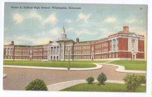 Pierre S. DuPont High School Wilmington DE Linen