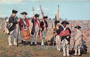 First Maryland Regiment Fort Frederick, MD Patriotic Postcard Post Card Fort ...