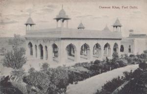 Deewan Khas Fort Delhi India Postcard