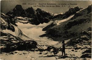 CPA Dauphiné - Massif de BELLEDONNE - Le Glacier de Freydane - Les (433452)