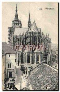 Old Postcard Prag Veitsdom