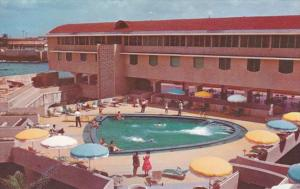 Netherland Antilles Curacao Hotel Coracao Intercontinental Rear View With Ter...