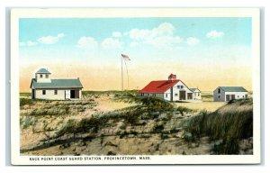 Postcard Race Point Coast Guard Station, Provincetown, Mass Y65