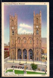 Notre Dame Church,Montreal,Quebec,Canada BIN