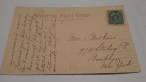 POSTCARD,NOVA SCOTIA,1907,HERRING COVE,$10 OR BEST OFFER