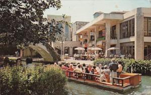 Texas San Antonio Barge At Kangaroo Court Restaurant At River Square 1978