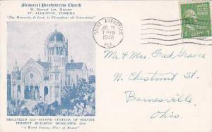 Florida Saint Augustine Memorial Presbyterian Church 1946