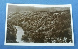 Vintage Real Photo  Postcard General View Symonds Yat  Herefordshire G1A