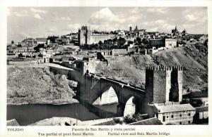 Spain Toledo Puente de San Martin y vista parcial 01.66