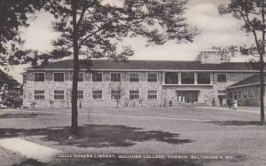 Maryland Baltimore Julia Rogers Library Goucher College Artvue