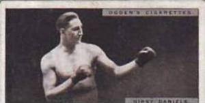 Ogdens Vintage Cigarette Card Pugilists In Action 1928 No 14 Gipsy Daniels