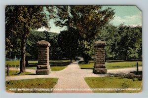 Lewisburg PA-Pennsylvania, Bucknell University, Vintage Postcard