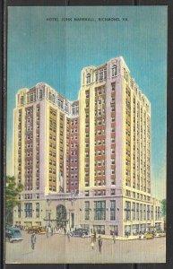 Virginia, Richmond - Hotel John Marshall - [VA-267]