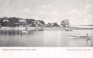 POINT INDEPENDENCE MASSACHUSETTS~WEST SIDE~HOLMES CASINO ISSUED POSTCARD 1900s