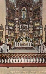 CUBA, 1900-10s; Altar in Sacred Heart Church